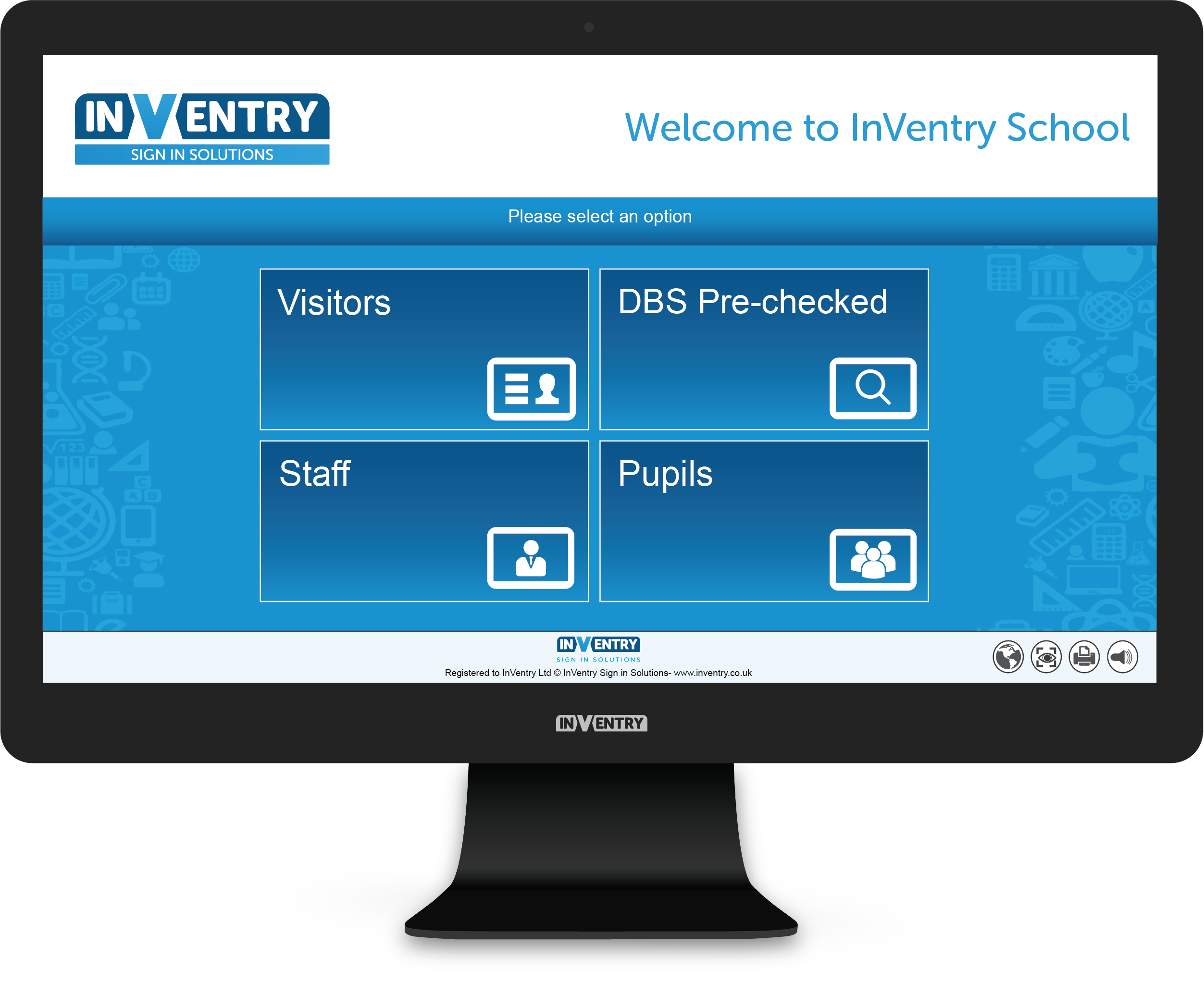 InVentry Visitor Management for Schools and Businesses