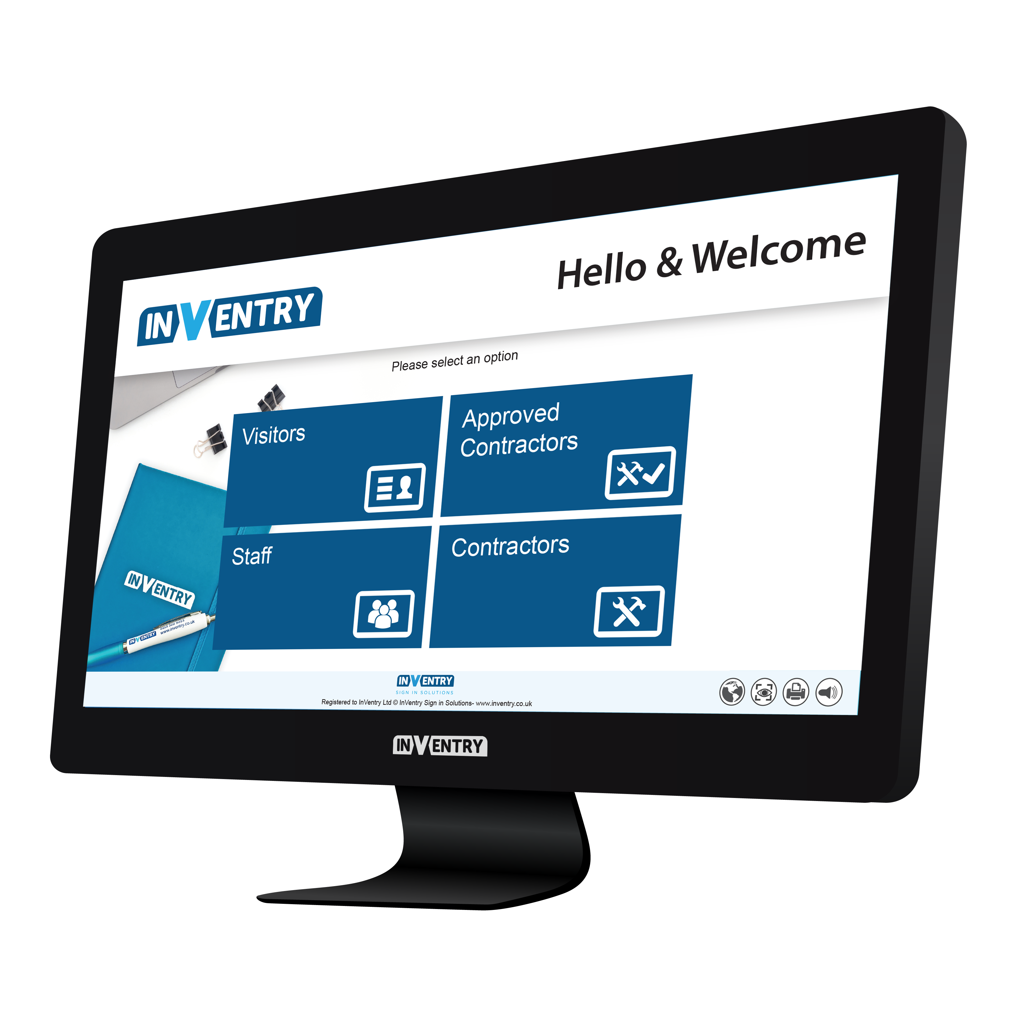 InVentry Visitor Management for General Office