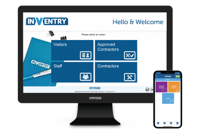 InVentry Corporate Skin with Pre-booking Visitor App