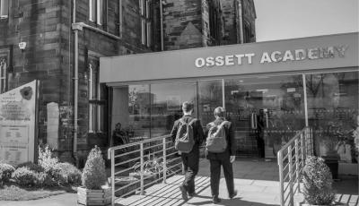 Outside Ossett Academy