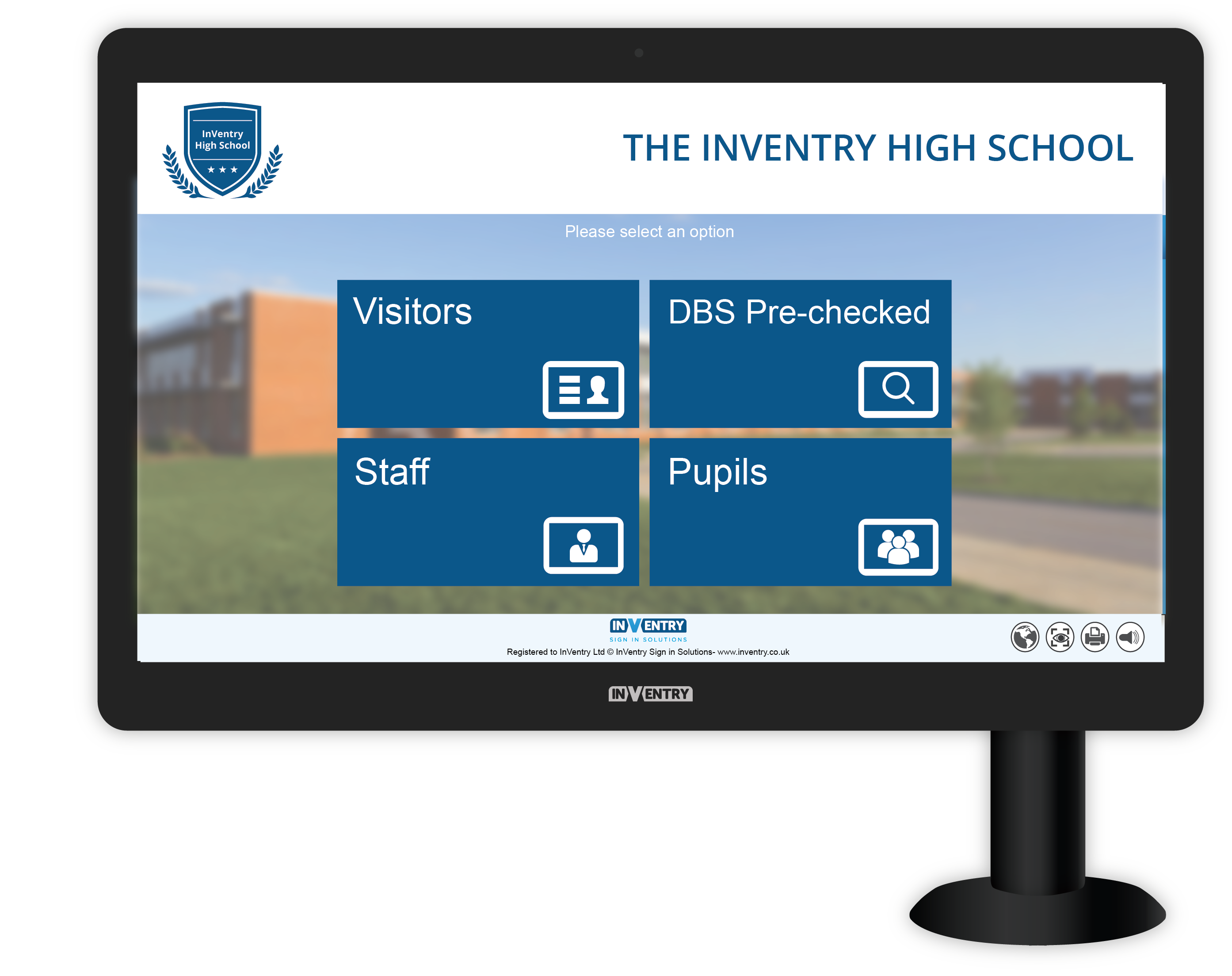 InVentry Sign In Soltuions