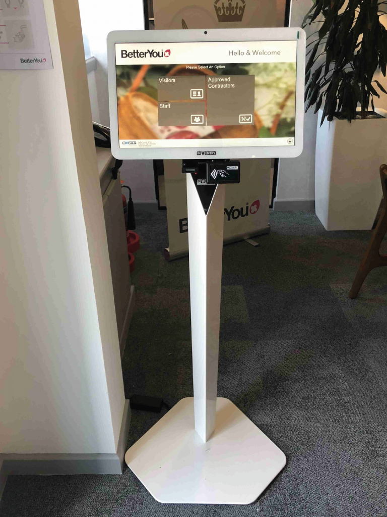 White Floor Mounted Stand - Better You