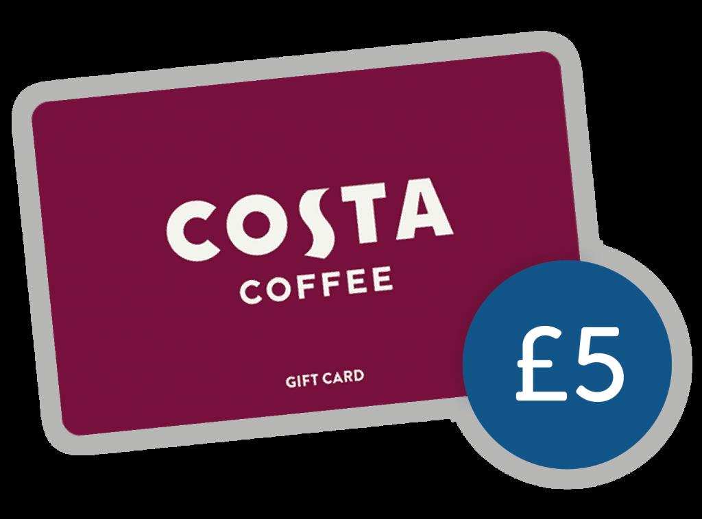 Costa Voucher £5